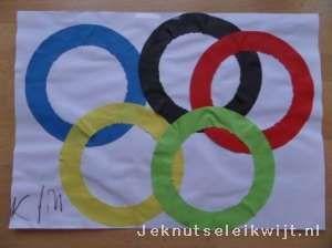 Olympische spelen ringen