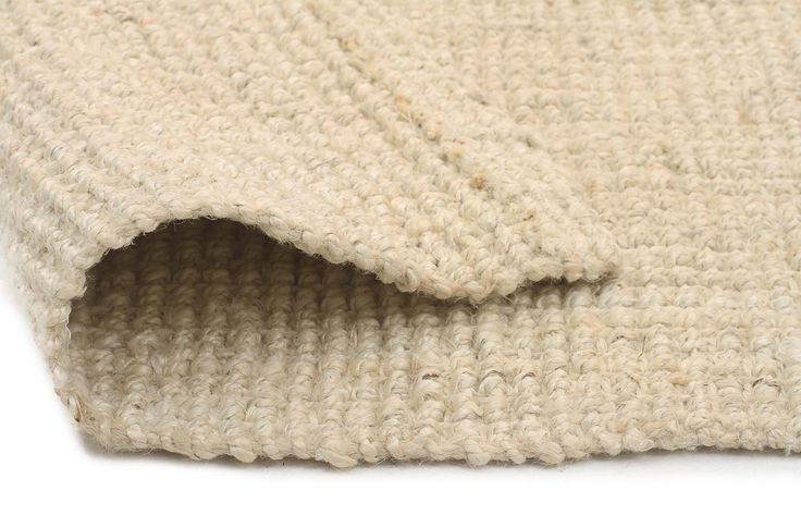 Chunky Natural Fiber Barker Bleach Rug