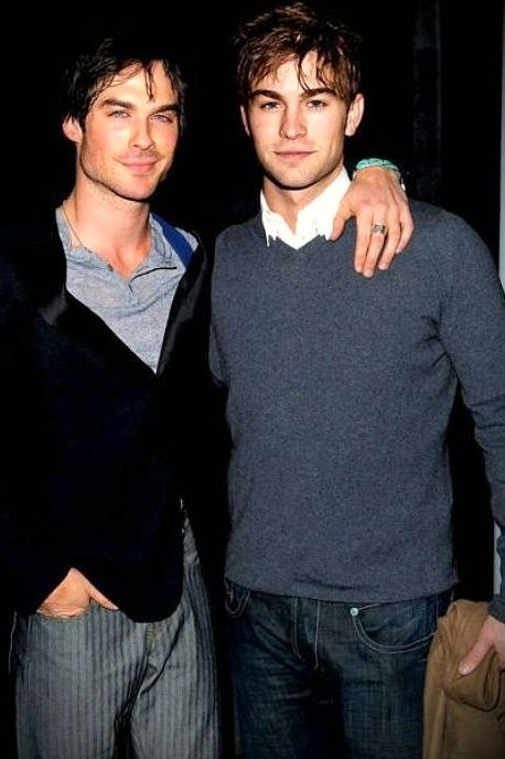 Ian Somerhalder - Chase Crawford. I can't even believe this pic it's too much gorgeousness