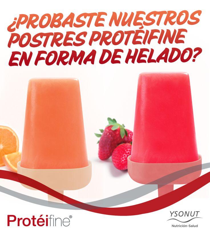 #Postres #Protéifine en forma de #Helado!!! #Ysonut #nutrición #Vidasana http://ysonut.com.ar