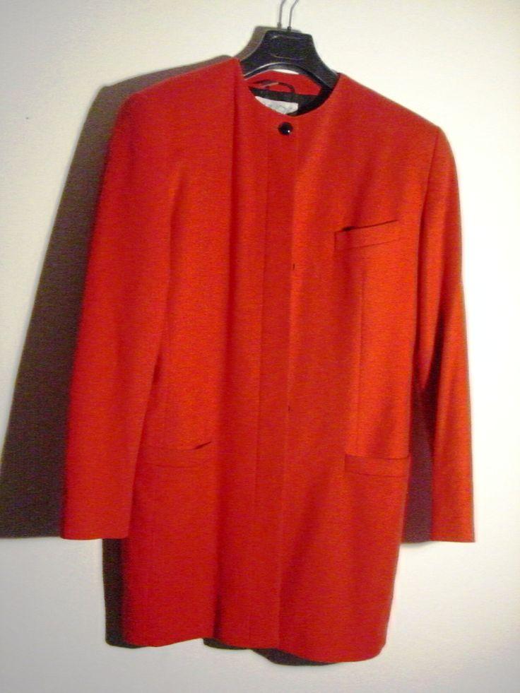 roter Mantel   Kleider gehen um   Pinterest Vintage Fashion