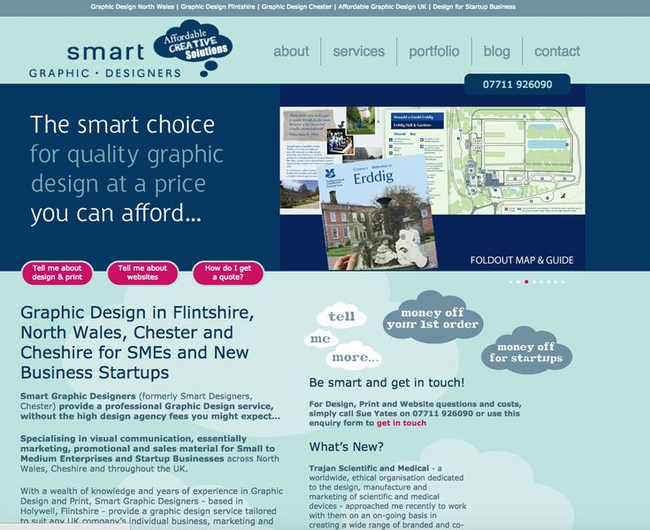 UK based quality graphic design service: Sue Yates, Smart Graphic Designers. Working remotely for any UK client, or at your site on a temporary contract in Cheshire/North Wales area.