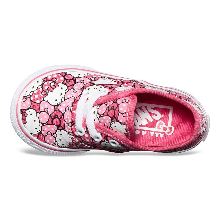 Actually buying these for my daughter... Toddler Hello Kitty Vans!