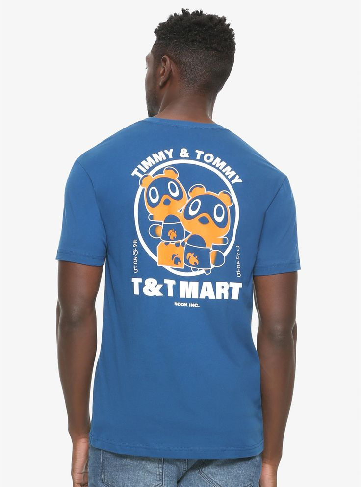 Animal crossing tt mart tshirt boxlunch exclusive in