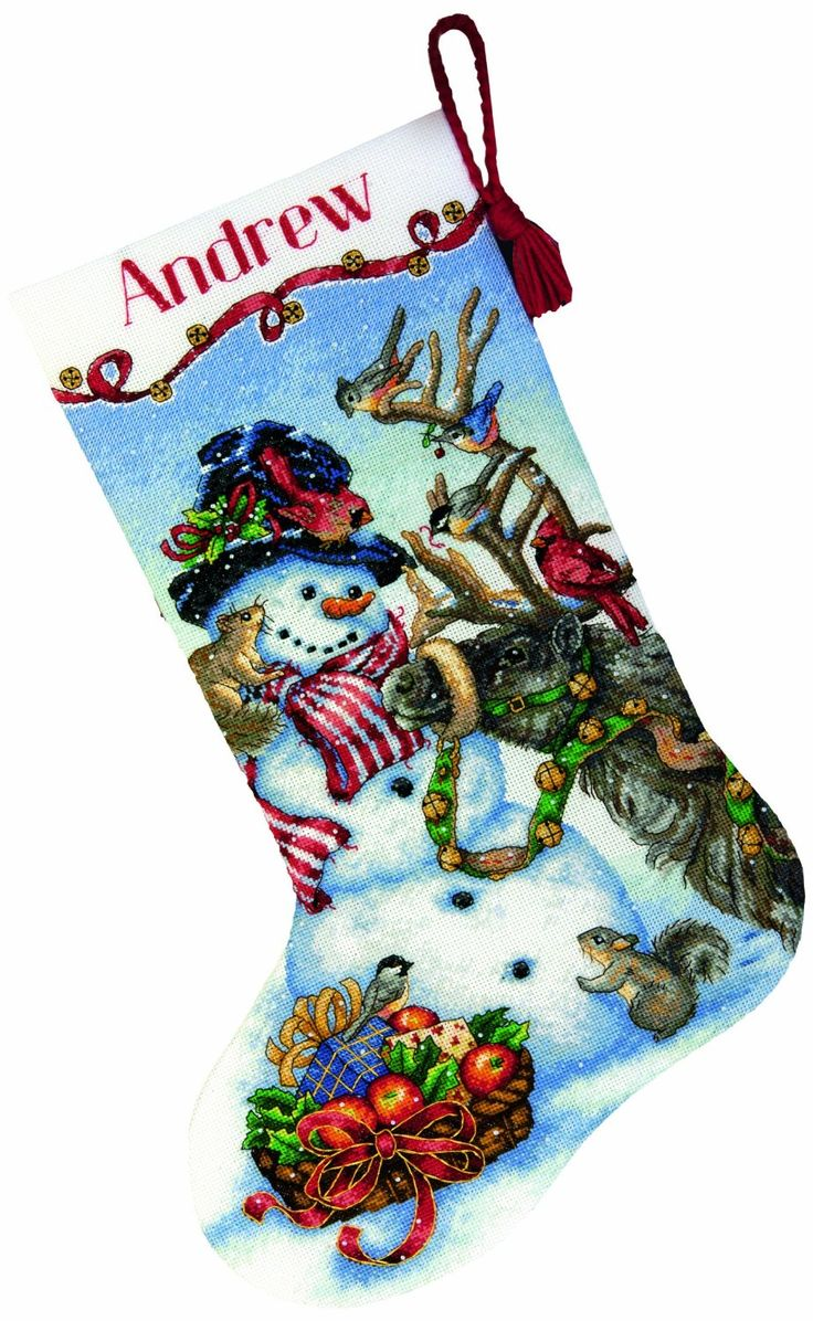 cross stitch patterns for christmas stockings | Best Christmas Cross Stitch Kits And Patterns For 2013