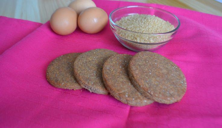 Biscotti con farina di fagioli