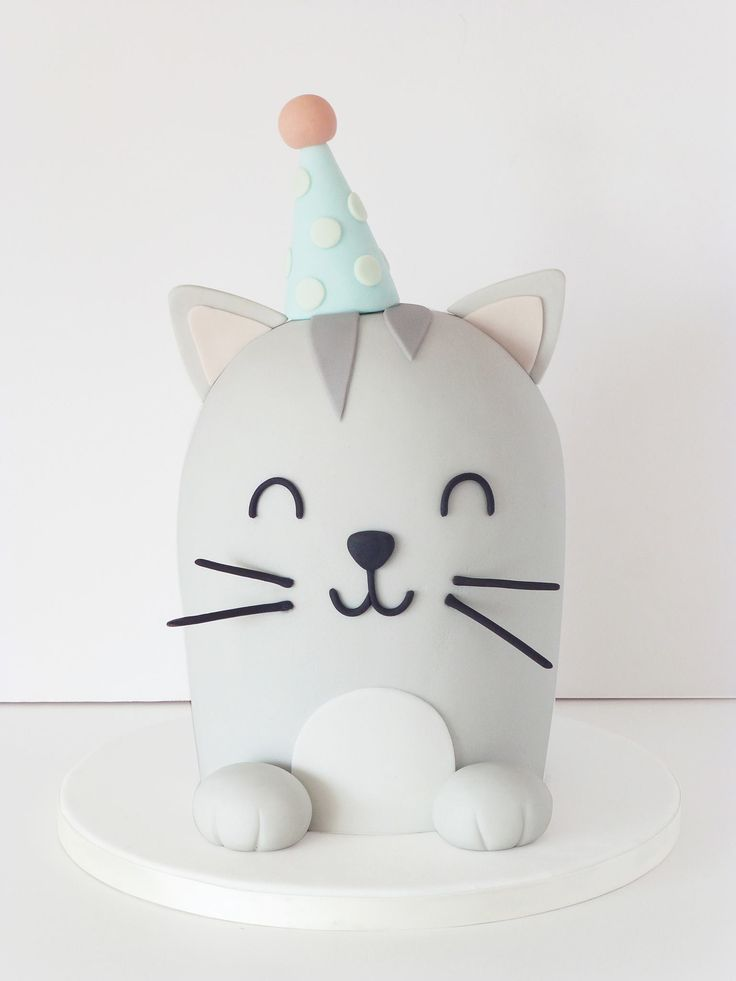 Soooooo CUTE! Cat cake #cat #cake #catcake                                                                                                                                                                                 More