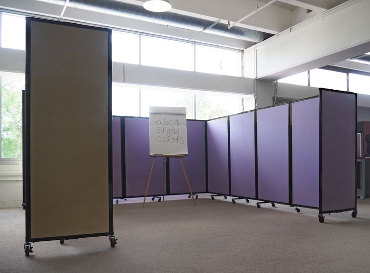 Choose From Various Panel Options Such As A Noise Dampening Acoustical Fabric For Displaying