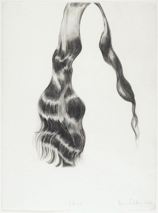 hair-drawing