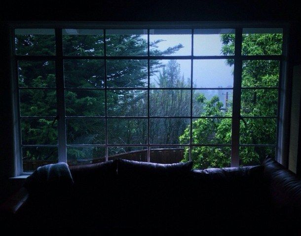 evening, green, home, nature, photography, rain, rainy days, tumblr, window