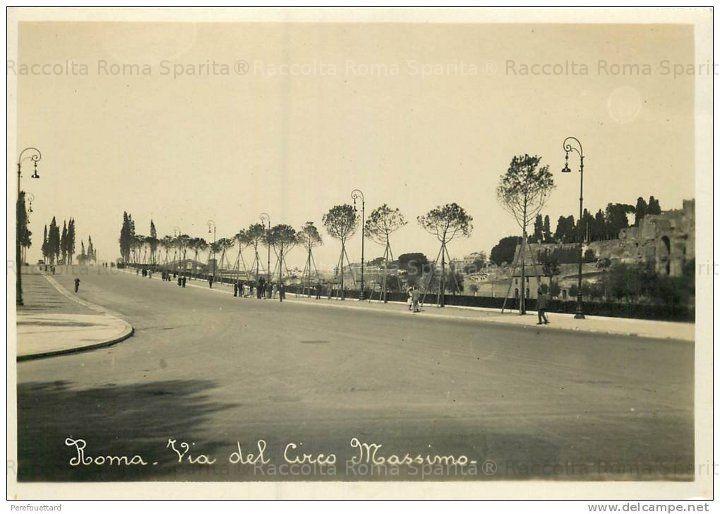 Via del Circo Massimo 1936