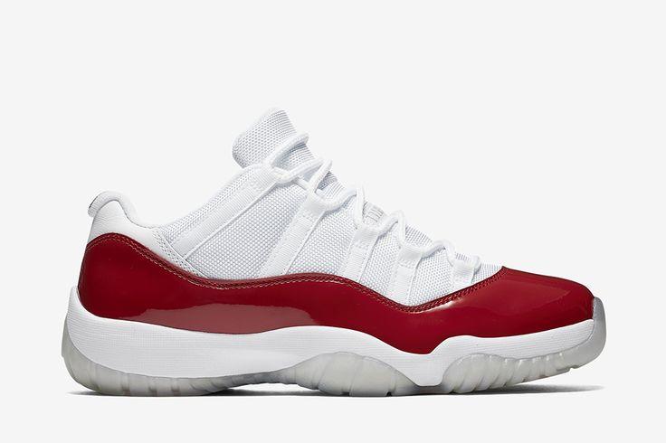 "Air Jordan Retro 11 Low ""White/Varsity Red"" (Cherry) - EU Kicks: Sneaker Magazine"