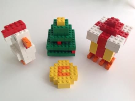Crossy Road Christmas Characters