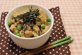 簡単!朝ごはん☆鶏胸肉の甘辛煮、のっけごはん|レシピブログ