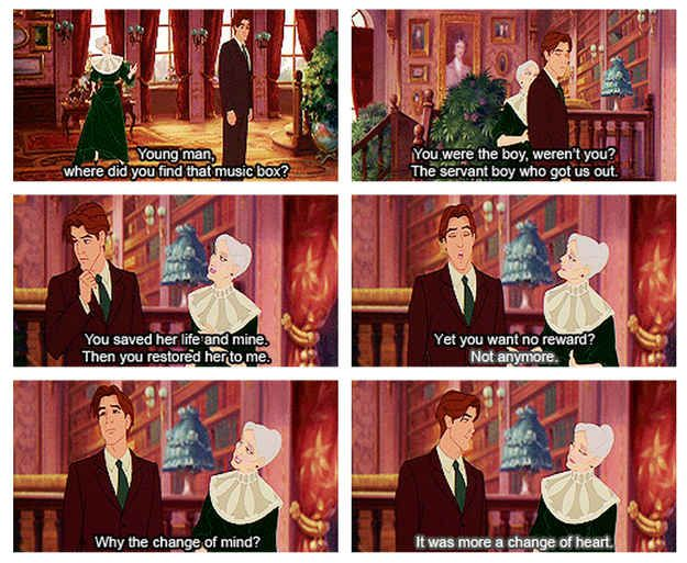 "But, in the end, it's all about the extraordinary depths of the human heart and how anyone can become family to us if we let them in. | 25 Reasons ""Anastasia"" Is The Best Animated Film Ever"
