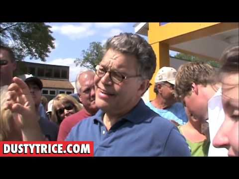 Senator Al Franken discussing the public option and election reform with constituents. Why can't more politicians be like this? Actually having intelligent discussions with the voters. Why don't we see things like this on our television sets? Oh right, because we're too busy watching the crazy people who don't know how to have a constructive dialogue.
