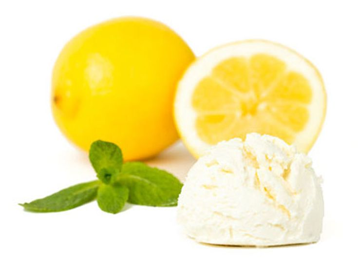 Fruchtiges Zitroneneis selber machen