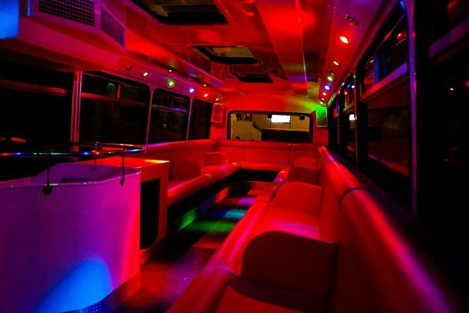 Party Bus #Hen Party Idea.  Great for a wild night on the town but without the queuing