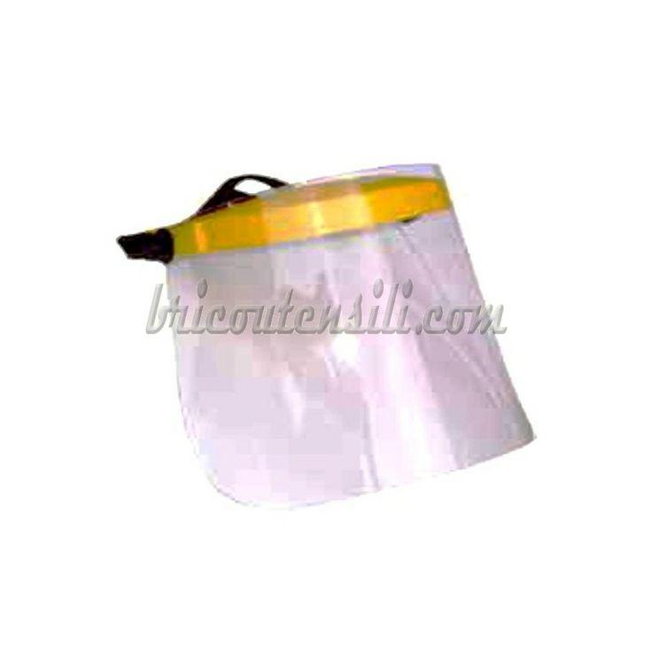 Axel GA0388   Visiera di protezione in Policarbonato trasparente, regolabile.