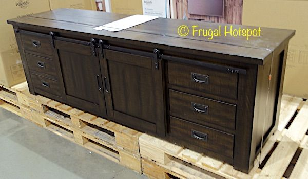 Bayside Furnishings 72″ TV Console. #Costco #FrugalHotspot