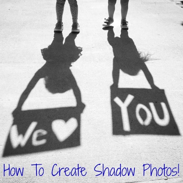 shadow photo 52 Weeks of Pinterest: Week 23 Fathers Day Shadow Photo!