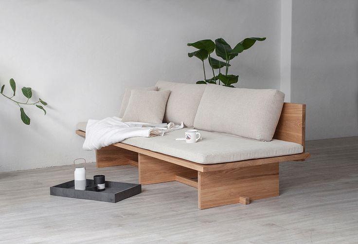 blanco-sofá-cama-sofá-munito-5 - Diseño Leche