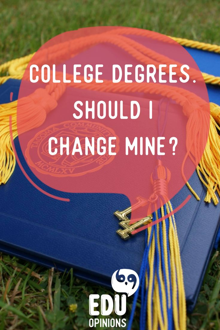 Choosing your university degree is a big deal. However, not everyone is sure of what to study. Sometimes we are not confident that we made the right choice. Don´t stress yourself out, there are options. Take a look at our new article about how to figure out if your degree is right for you or if you should change it. Visit EDUopinions and leave us your thoughts! #universitystudents#degrere#major#college#choices
