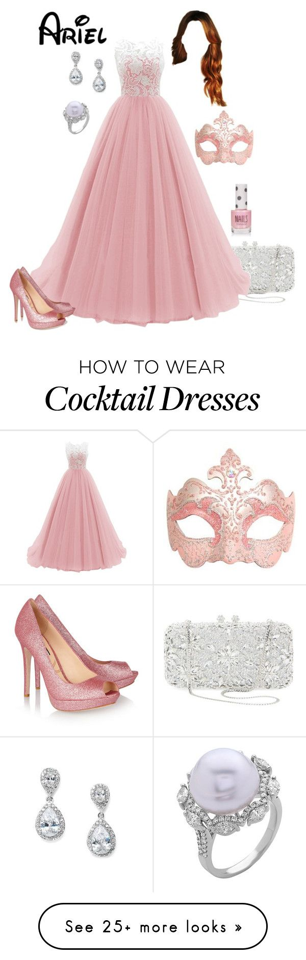 """""""Disney - Ariel"""" by briony-jae on Polyvore featuring Natasha Couture, CO, Lucy Choi London and Topshop"""