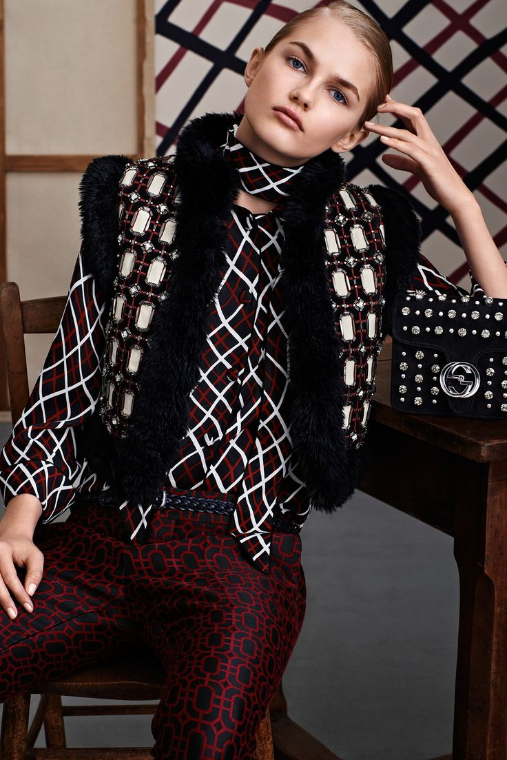 Gucci - - Pre-Fall 2015 - Lookbook   TheImpression.com