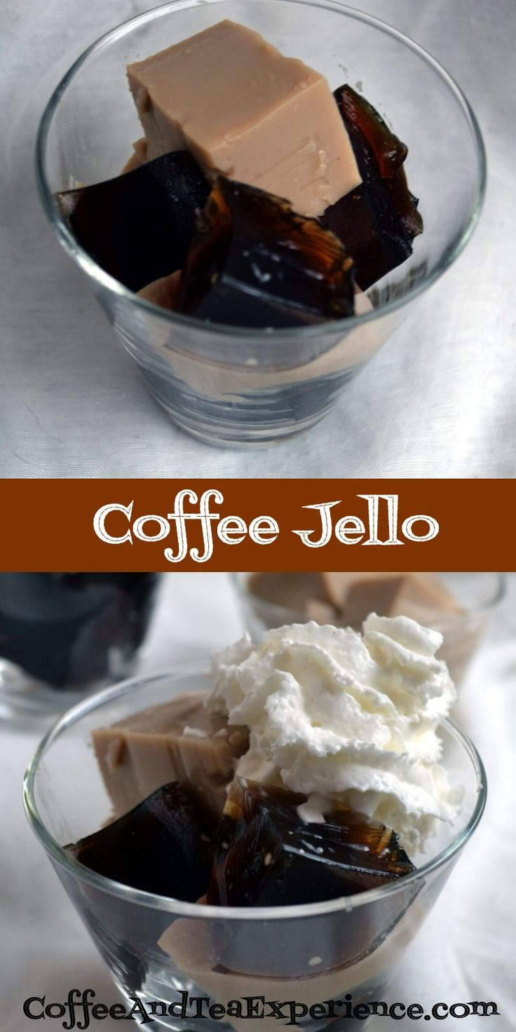 How To Make Coffee Jello • The Coffee and Tea Experience