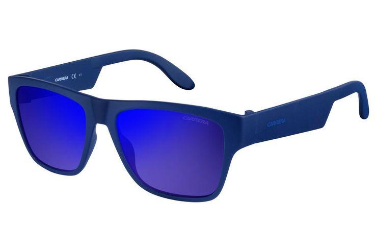 Carrera - 5002/ST Blue Sunglasses, Blue Sky Mirror Lenses