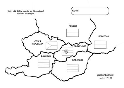 Susedné štáty Slovenska