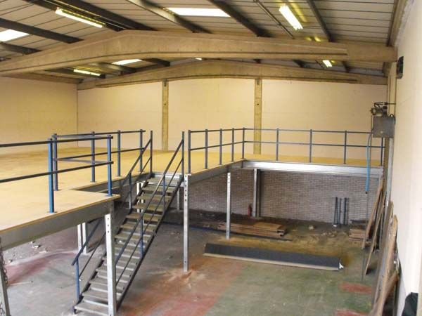 Used Second Hand Pre Owned Mezzanine Floors Systems