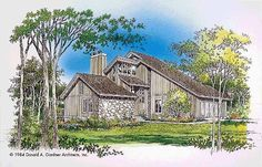 Shed House Plan with 1883 Square Feet and 3 Bedrooms(s) from Dream Home Source | House Plan Code DHSW01440