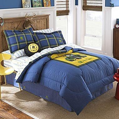 Jcp John Deere Blue Denim Comforter For The Boys