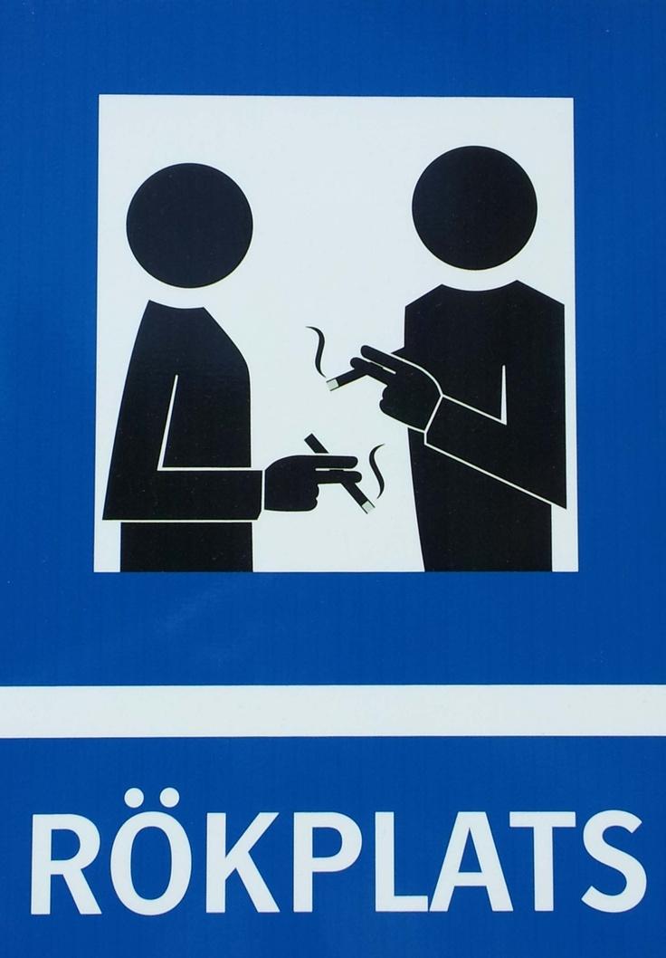 Rökningen tillåten här.