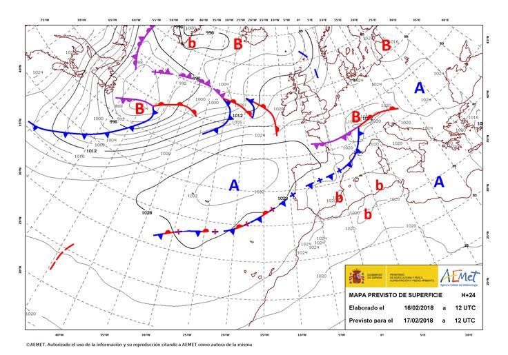 Fenómenos significativos No se esperan. Predicción En Galicia, comunidades cantábricas y norte de Navarra estará nuboso o cubierto con precipitaciones,