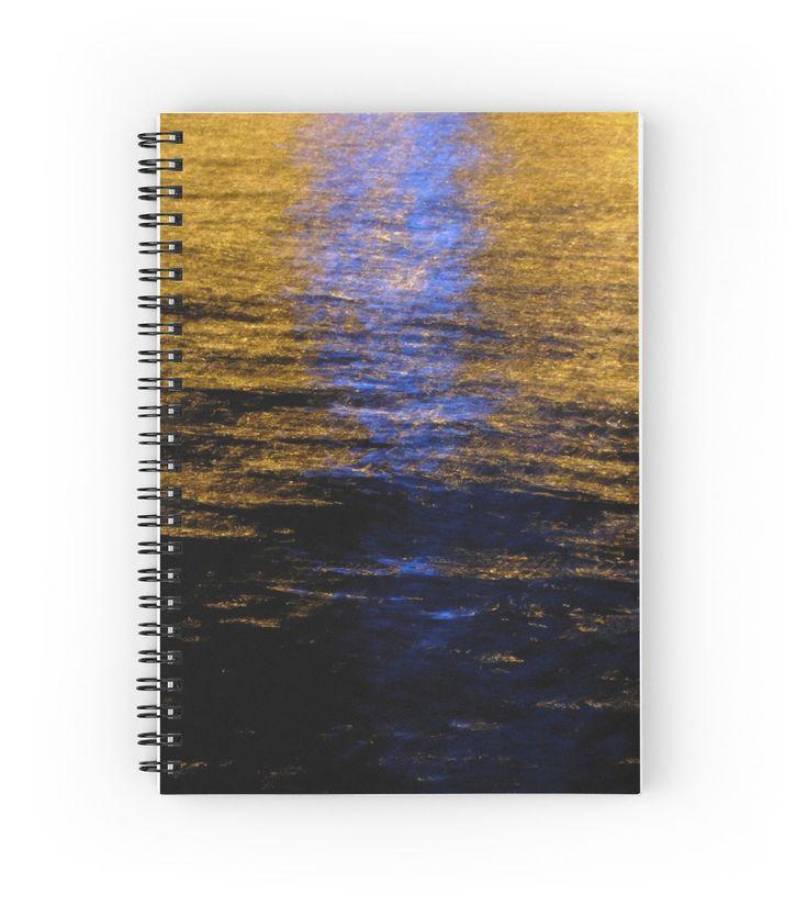 Reflections Spiral Notebook by Emily Pigou #spiralnotebook #notebook #buynotebook #office #officegifts #stationery #buystationery #school #schoolnotebook #buynotebooks #coolnotebook #giftsforkids #highschoolgifts #giftsforwriters #writersnotebook #giftsforhim #giftsforher #teenager #teenagergifts #sea #summernotebook #redbubble #emilypigou