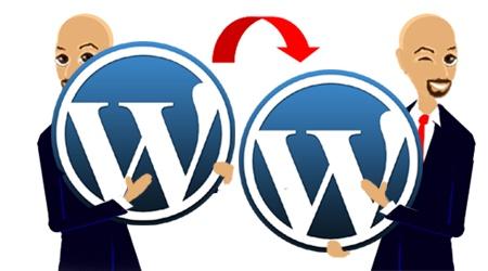 Backup WordPress! Working Matter VA character by Patrick.