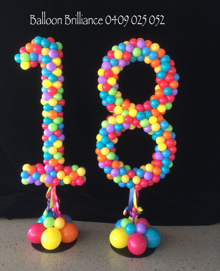 16 Balloons Number Balloons Balloon Balloon Birthday