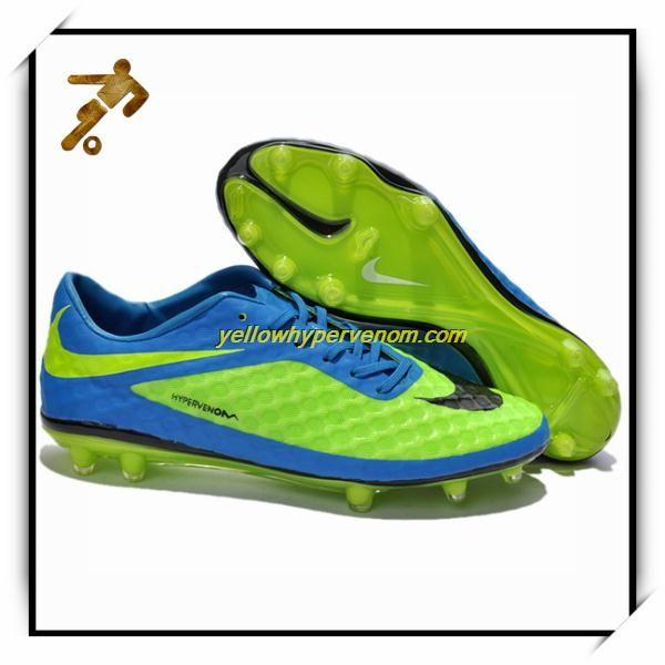 Nike Hypervenoms Phantom AG Neptune Blue Football Shoes Market