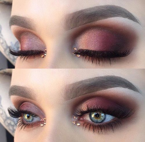 Best 25+ Maroon makeup ideas on Pinterest
