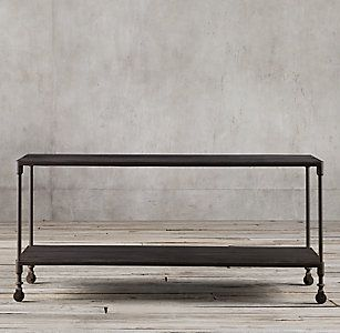 Dutch Industrial Collection - Espresso Elm& Rust Metal | RH