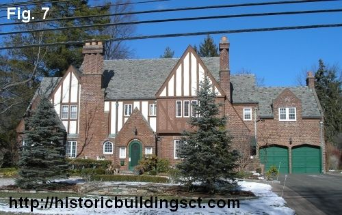 Historic buildings of connecticut early twentieth for Tudor colonial style home