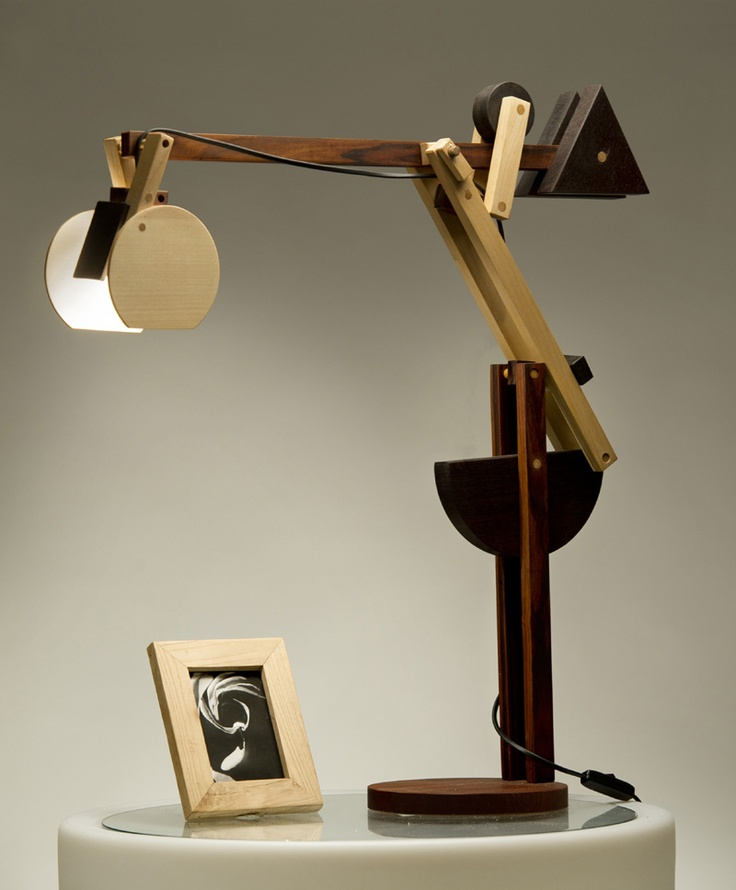 Crane Small Lamp Lampada Gru Piccola