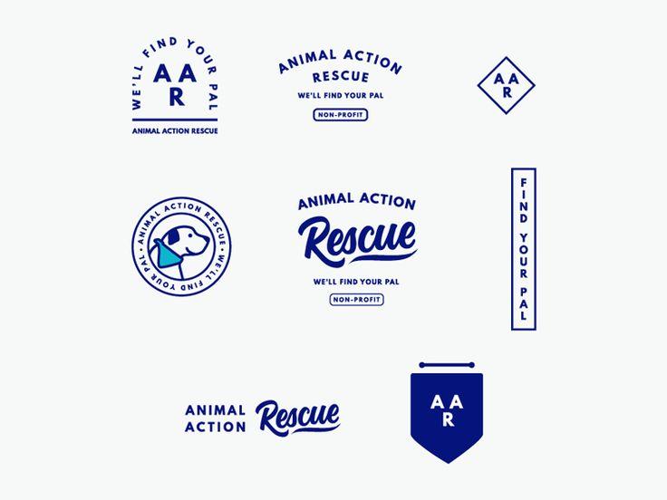 Brand Logo Suite for Non-Profit Foster Dog Association