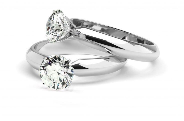 GILARDY Verlobungsringe aus 18K Weißgold mit 0,4 Ct. Brillanten #Verlobung #Ringe #München #Liebe #Juwelier #Schmuck