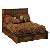 Found it at Wayfair - Barnwood Traditional Platform Bed