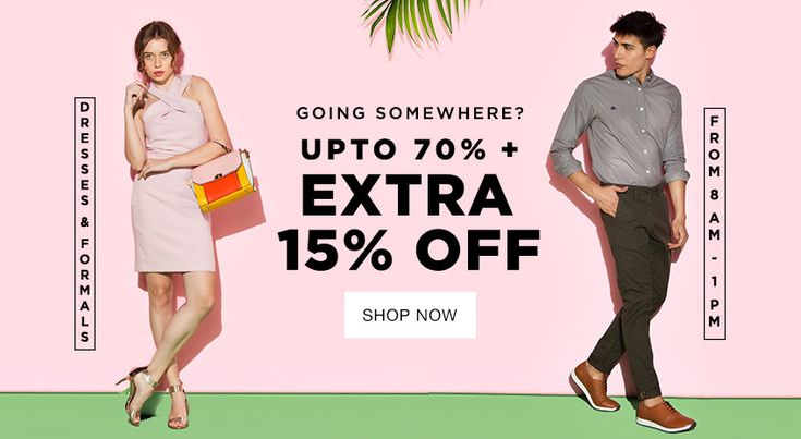 70% discount on Clothing, offered by Jabong