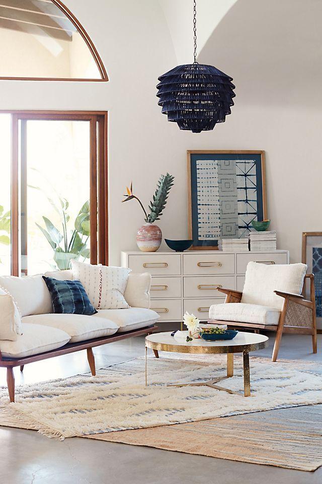 Linen Cane Chair In 2021 Living Room Diy Living Room Design Diy Living Room Designs Chair styles for living room